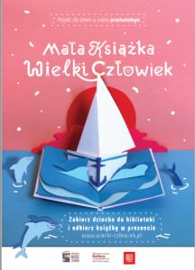 Plakat Mała książka - wielki człowiek
